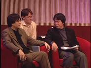 SatoruIwata,BillTrinenandShigeruMiyamotoinD.I.C.E.Summit2002