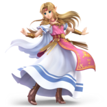 Super Smash Bros. Ultimate - Character Art - Zelda