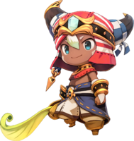 Ever Oasis - Character artwork 01