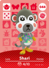 Animal Crossing Amiibo Card 044