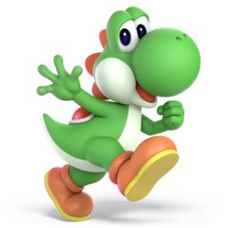 Super Smash Bros. Ultimate - Character Art - Yoshi