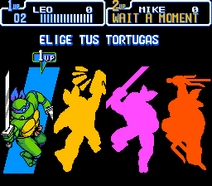 TMNT IV - Characters