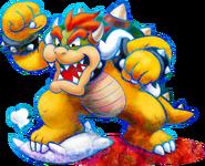 Bowser Artwork - Mario & Luigi Dream Team