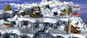Gorilla Glacier (Donkey Kong Country, SNES)
