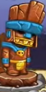 Swords & Soldiers Aztec statue