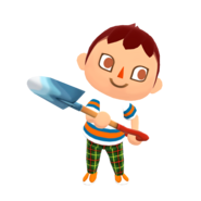 Animal Crossing - Pocket Camp - Character Artwork - Player - Boy 02