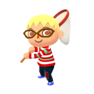 Animal Crossing - Pocket Camp - Character Artwork - Player - Boy 06