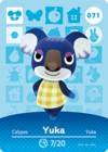 Animal Crossing Amiibo Card 071