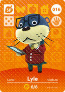Amiibo - Card - Animal Crossing - Lyle