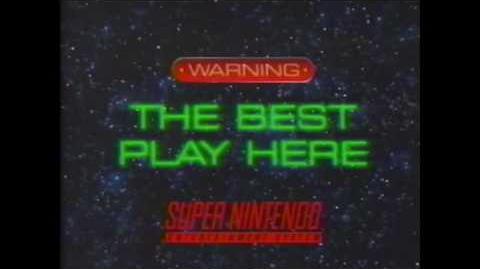 Starfox Commercial 1993