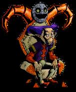 The Legend of Zelda Majora's Mask 3D - Character artwork 18