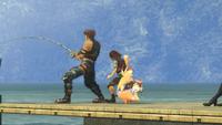 Reyn fishing