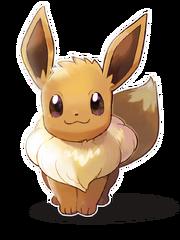 Eevee - Pokemon Lets Go Eevee