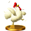 SSBfWU Cucco Trophy Model