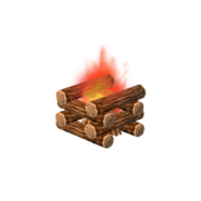 Animal Crossing - Pocket Camp - Fire Pit
