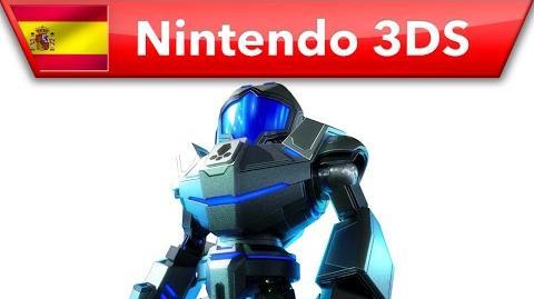 Metroid Prime Federation Force - Mensaje de Kensuke Tanabe (Nintendo 3DS)
