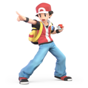 Super Smash Bros. Ultimate - Character Art - Pokémon Trainer
