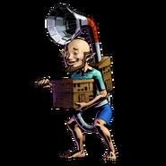 The Legend of Zelda Majora's Mask 3D - Character artwork 19