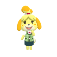 Animal Crossing - Pocket Camp - Character Artwork - Isabelle 03