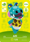 Animal Crossing Amiibo Card 036