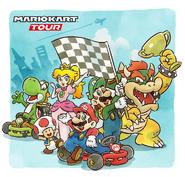 Mario Kart Tour Release Artwork