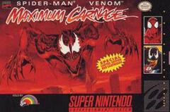 Maximum Carnage SNES boxart
