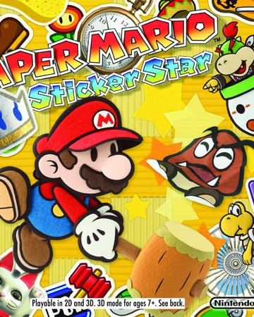 Paper Mario Sticker Star Nintendo Fandom