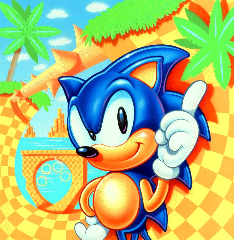 Image - Sonic 1 USA Sonic.png | Nintendo | FANDOM powered ...