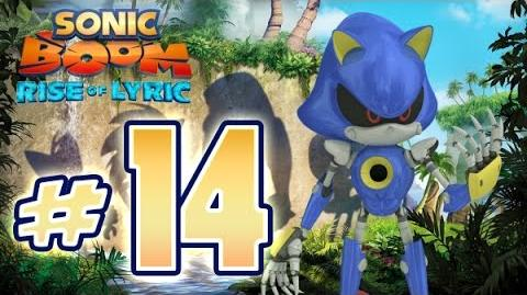 Sonic Boom Rise of Lyric (WiiU) Gameplay No Commentary Walkthrough Part 14