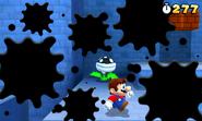 Super Mario 3d vs Ink Piranha