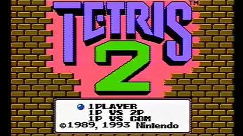 Tetris II (NES) - Nintendo Power Previews 7 segment