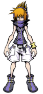 The World Ends with You Final Remix - Character Art - Neku 2