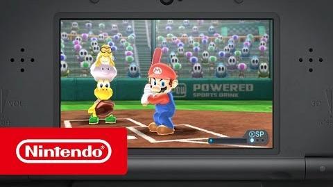 Mario Sports Superstars – Tráiler Home run (Nintendo 3DS)