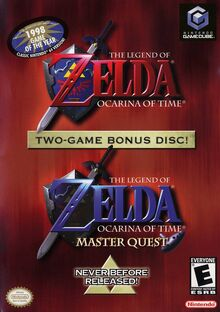 Legend of Zelda Ocarina of Time Master Quest (NA)