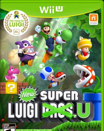 New Super Luigi U Nintendo Fandom