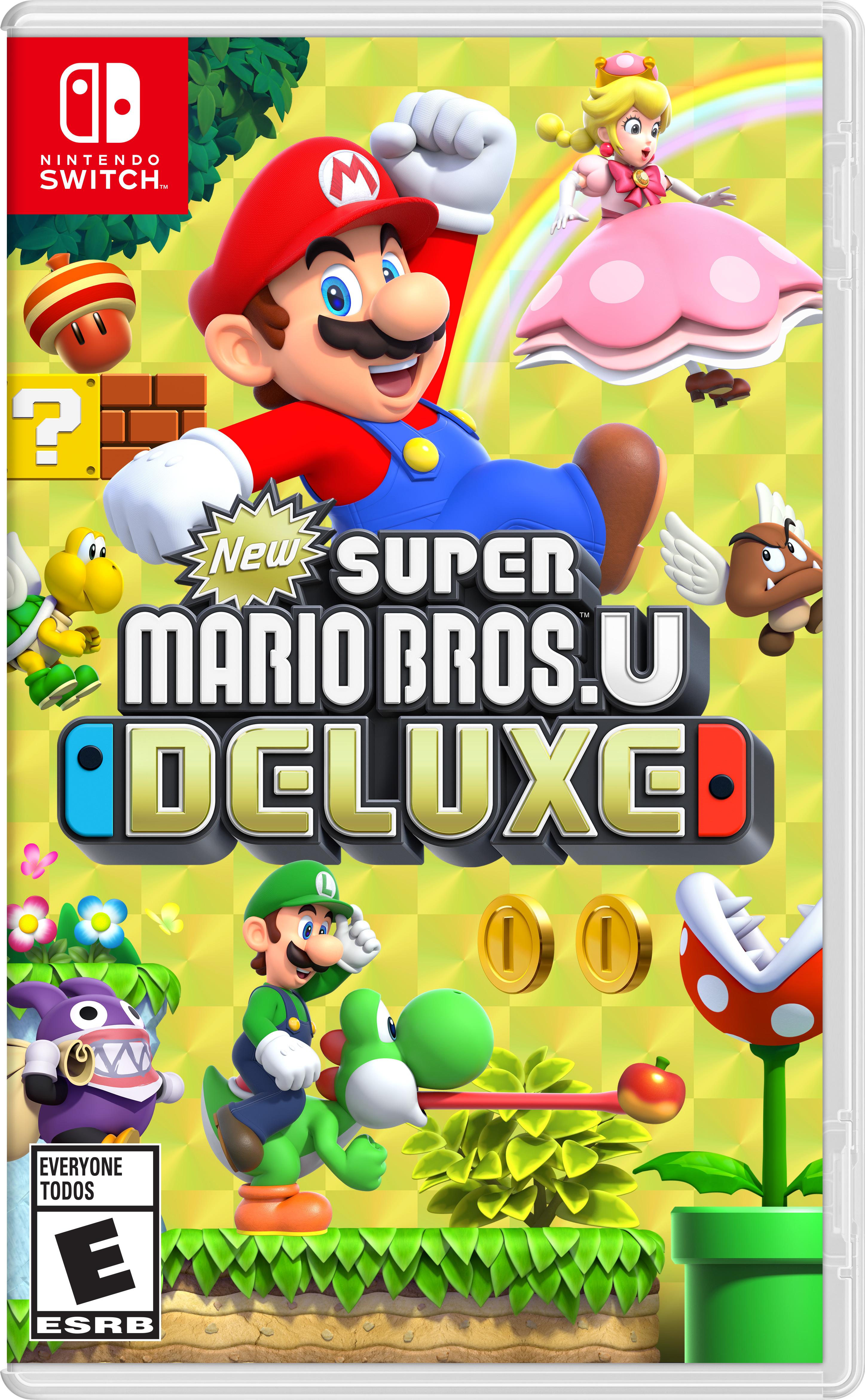 New Super Mario Bros U Deluxe Nintendo Fandom