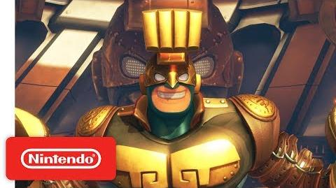 ARMS - Introducing Max Brass - Nintendo Switch