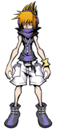 The World Ends with You Final Remix - Character Art - Neku 3