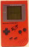 Game Boy - EB Red