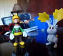 Super Mario Galaxy 2 Bee Luigi and Star bunny two pack