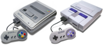 USA-SNES - JPN-SuperFamicom
