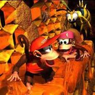 Donkey Kong Country 2 artwork 2