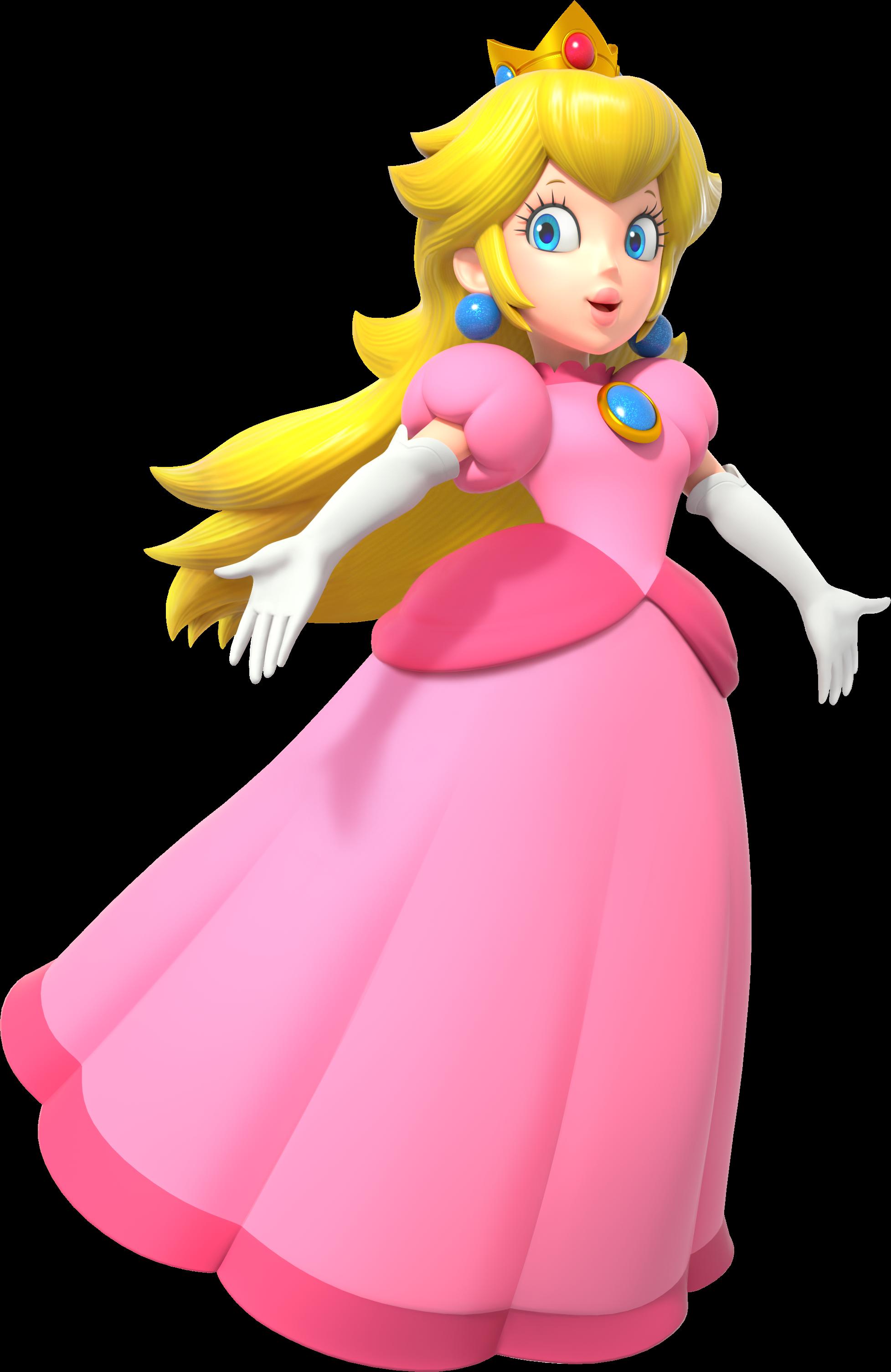 Paper Mario Princess Peach S Room