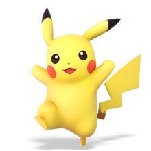 Super Smash Bros. Ultimate - Character Art - Pikachu