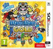 WarioWare Gold Boxart UK