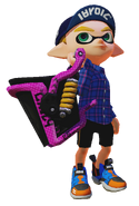 Splatoon - Slosher Strong 01