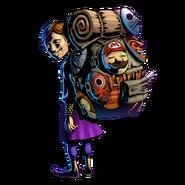 The Legend of Zelda Majora's Mask 3D - Character artwork 23