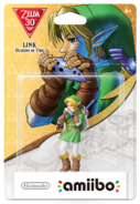 Amiibo - The Legend of Zelda 30th - Link - Ocarina of Time - Box