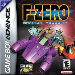 F-Zero Maximum Velocity - Box Cover