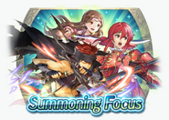 Fire Emblem Heroes - Summoning Banner - Heroes with Life and Death